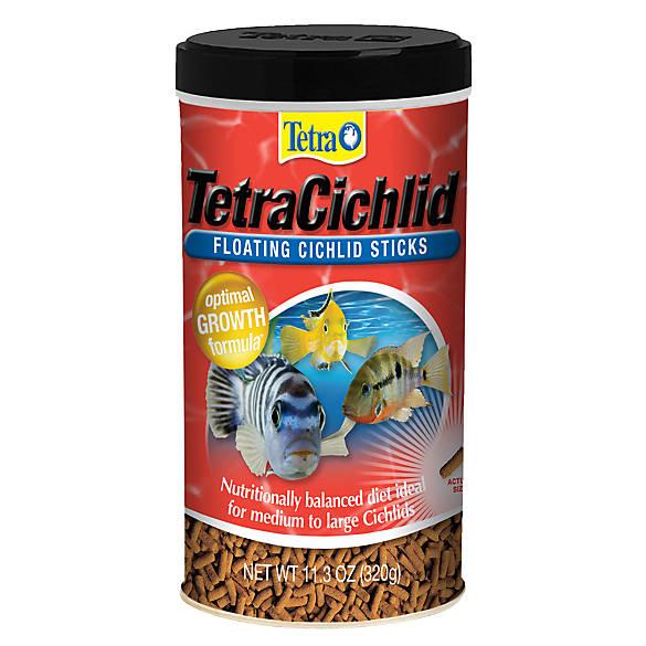 Tetra tetracichlid sticks fish food fish food petsmart for Tetra cichlid sticks