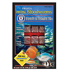 San Francisco Bay Brand® Sally's Frozen Mini-Bloodworms™ Fish Food