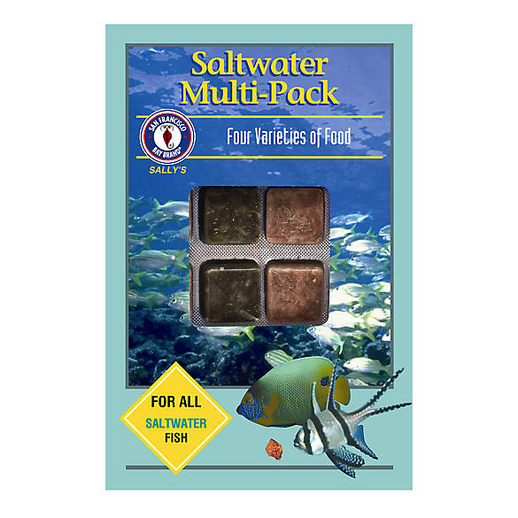 San Francisco Bay Brand® Saltwater Multi-Pack™ Fish Food | Tuggl
