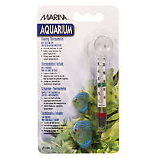 Marina® Floating Thermometer & Suction Cup Aquarium Thermometer