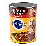 PEDIGREE® Meaty Ground Dinner Adult Dog Food