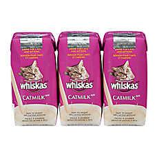 WHISKAS® Cat Milk - Value Pack, 3ct