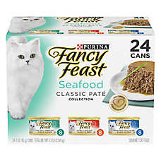 Fancy Feast® Seafood Feast Variety Pack for Cats