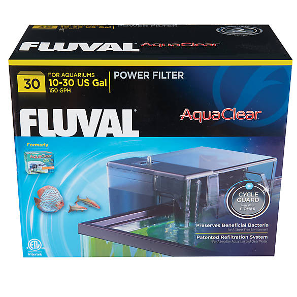 Aqua clear fluval power filter fish filters petsmart for Petsmart fish tank filters