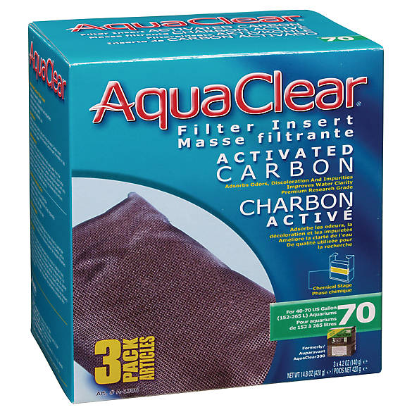 Aqua clear fluval carbon fish filter media petsmart for Petsmart fish filters