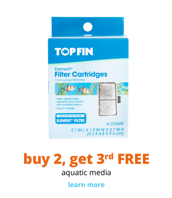 buy 2, get 3rd FREE aquatic media