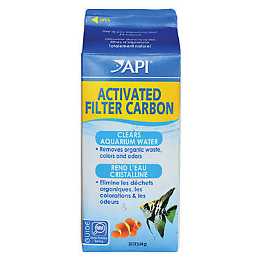Api aquarium activated filter carbon fish filter media for Petsmart fish filters