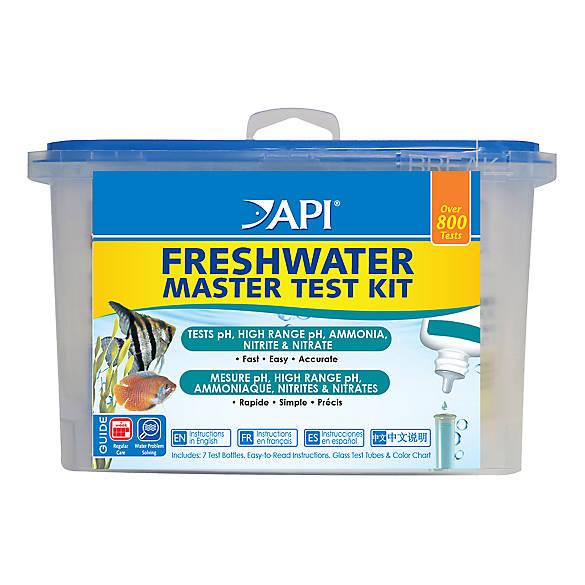 api freshwater aquarium master test kit fish water quality testers petsmart. Black Bedroom Furniture Sets. Home Design Ideas