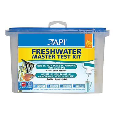 Api freshwater aquarium master test kit fish water for Fish tank test kit