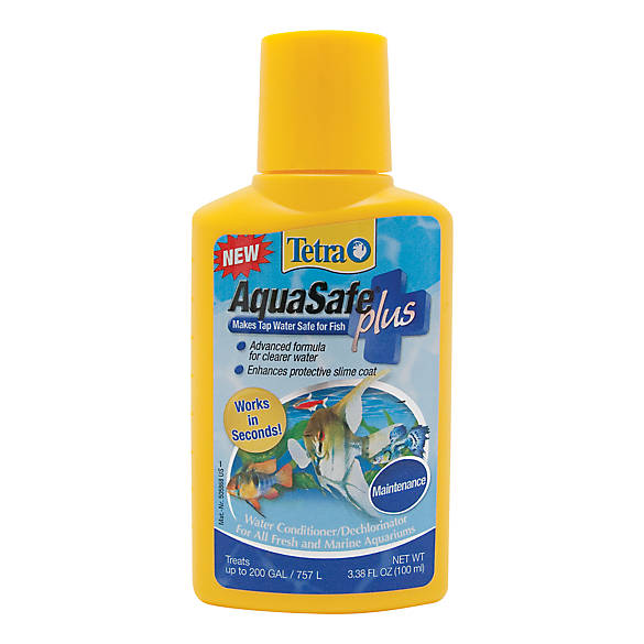 Tetra Aquasafe Plus Aquarium Dechlorinator Water