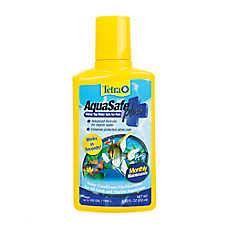 Tetra® AquaSafe Plus Aquarium Dechlorinator Water Conditioner