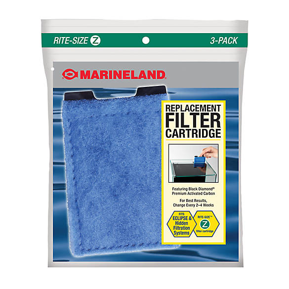 Marineland eclipse rite size z filter cartridge fish for Petsmart fish filters