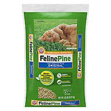 Feline Pine Cat Litter - Natural, Non-Clumping