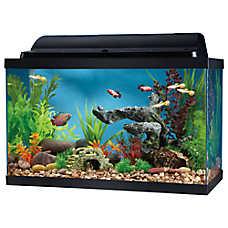 Top Fin® 10 Gallon Hooded Aquarium