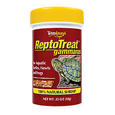 Tetrafauna Reptotreat Gammarus 100% Natural Shrimp for Aquatic Turtles, Newts and Frogs
