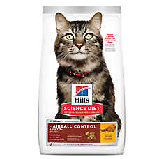 Hill's® Science Diet® Hairball Control Senior Cat Food - Chicken