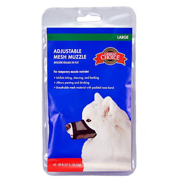 Petsmart Large Dog Muzzle