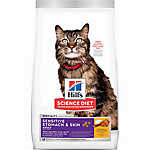 Hill's® Science Diet® Sensitive Stomach & Skin Adult Cat Food - Chicken & Rice