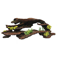 Top Fin® Greenery Driftwood Aquarium Ornament