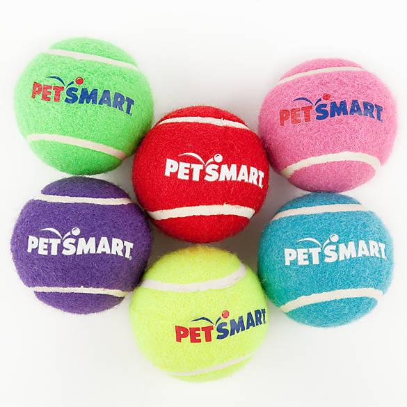 Grreat Choice Petsmart Logo Tennis Ball Dog Toy Dog Balls Petsmart
