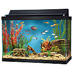 Top Fin® 20 Gallon Hooded Aquarium