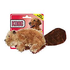 KONG® Stuffing Free Beaver Squeaker Dog Toy