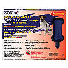 ZODIAC® PowerSpot® Fleat & Tick Control For Dogs - Under 14 kg