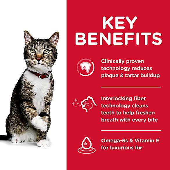 science diet adult oral care cat food
