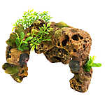 Top Fin® Stone Arch Shell Aquarium Ornament