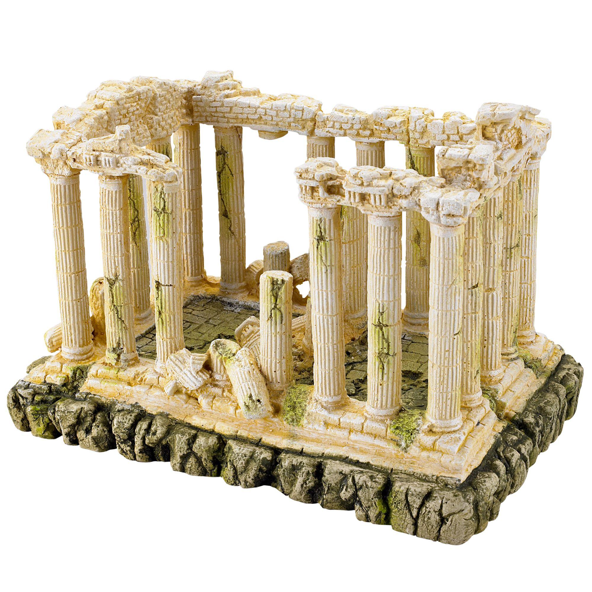 Pet Supplies Decorations Ancient Roman Ruins Ornament For Aquarium Fish Tank Decoration Terrarium Decor Younglordholding Ir