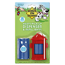Bags on Board® Fire Hydrant Pet Waste Pick Up Bag Dispenser