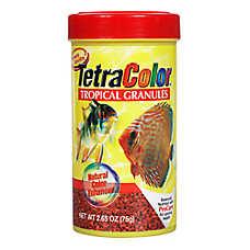 Tetra® TetraColor Tropical Granules Fish Food