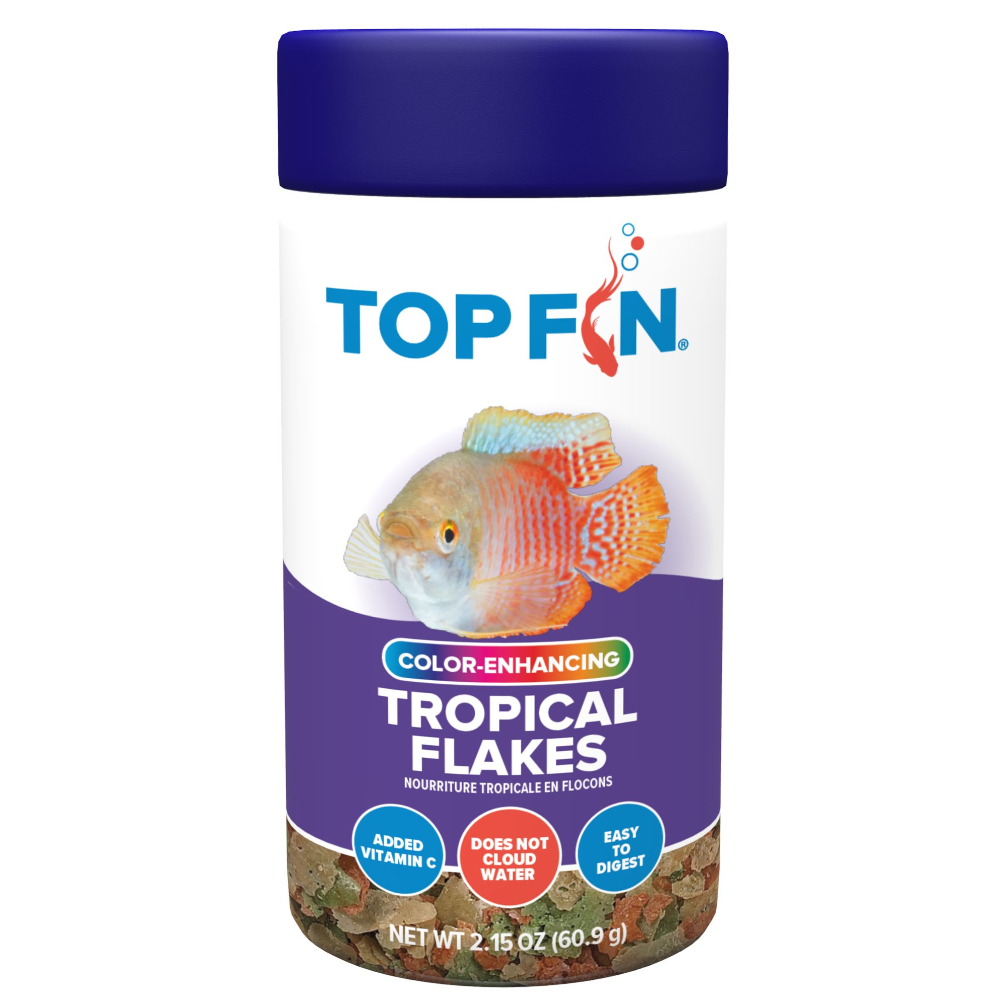 Top Fin Tropical Fish Flakes Fish Food Petsmart