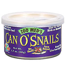 Zoo Med™ Can O'Snails No Shell Farm Raised Snails