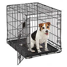 midwest life stages single door folding dog crate - Collapsible Dog Crate