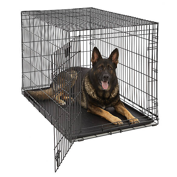 Midwest Life Stages Single Door Folding Dog Crate Dog Carriers
