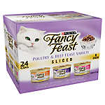 Fancy Feast® Sliced Poultry & Beef Feast Variety Pack for Cats