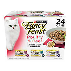 Fancy Feast® Grilled Poultry & Beef Feast Variety Pack for Cats