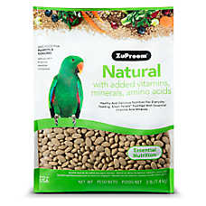 ZuPreem® Natural Medium Bird Food