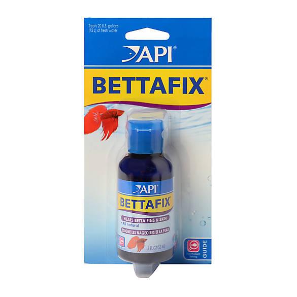 api bettafix freshwater fish bacterial infection treatment fish