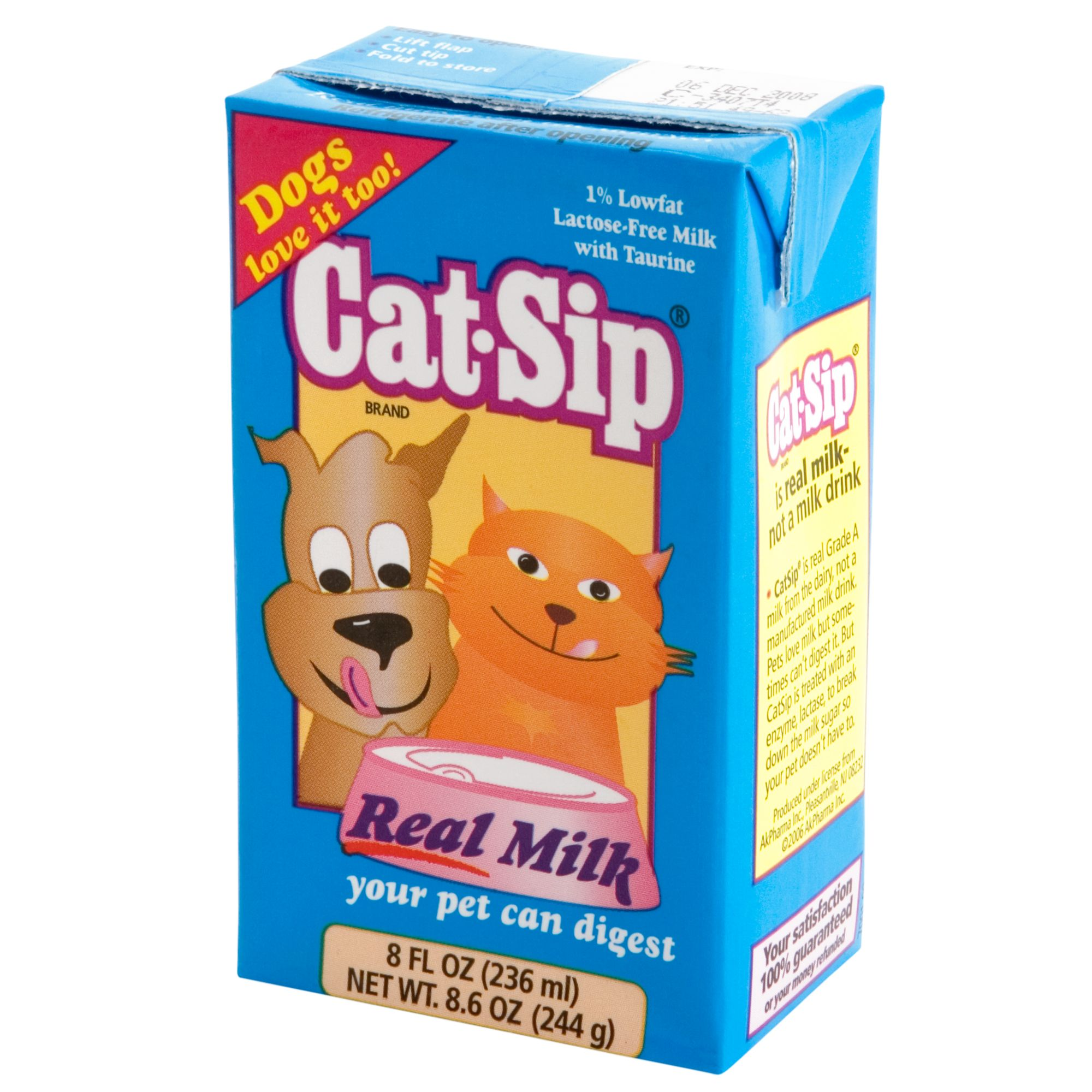 Cat Sip Milk Cat Treat Cat Treats Petsmart