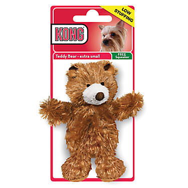 KONG® Teddy Bear Dog Toy - Plush, Squeaker | dog Plush