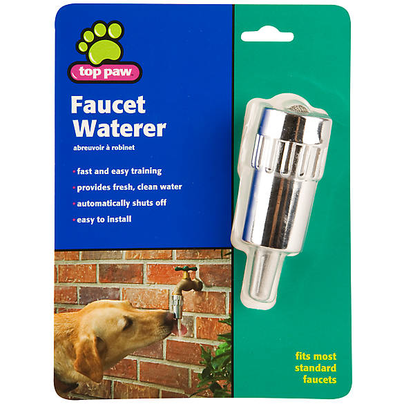 Top Paw® Dog Faucet Waterer | dog Automatic Feeders | PetSmart