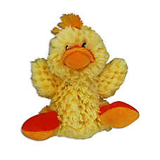 KONG® Duck Dog Toy - Plush, Squeaker