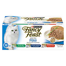 Fancy Feast® Seafood Supper Variety Pack Adult Cat Food