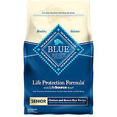 BLUE Life Protection Formula® Senior Dog Food - Chicken & Brown Rice