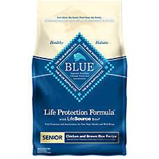 BLUE Life Protection Formula® Senior Dog Food - Chicken & Brown Rice