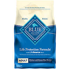 BLUE Life Protection Formula® Adult Dog Food - Chicken & Brown Rice