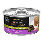 Purina® Pro Plan® Focus Weight Management Adult Cat Food - Turkey & Rice