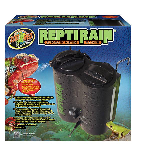 Reptile Misting System : Zoo med™ habba mist™ reptile terrarium misting system